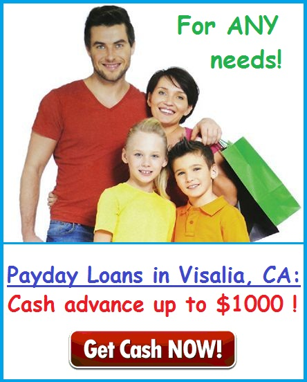 payday loans in Visalia CA